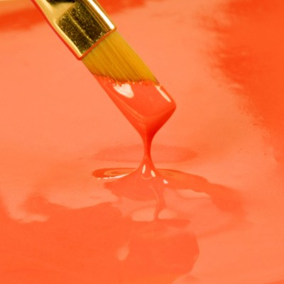 PAINT IT! - Peinture comestible Orange de Rainbow dust